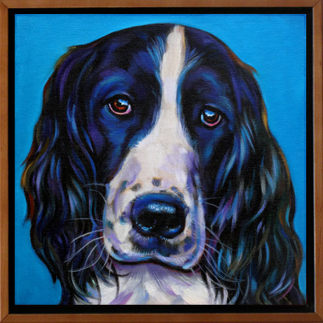 In memory of Bentley Pet Portrait
